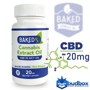 CBD Extract Capsules 20mg