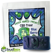 Green Haired Freak - Blueberry gummy 35mg CBD