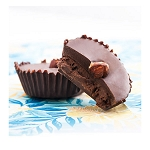 Dark Chocolate Hazelnut Cups - 200mg THC