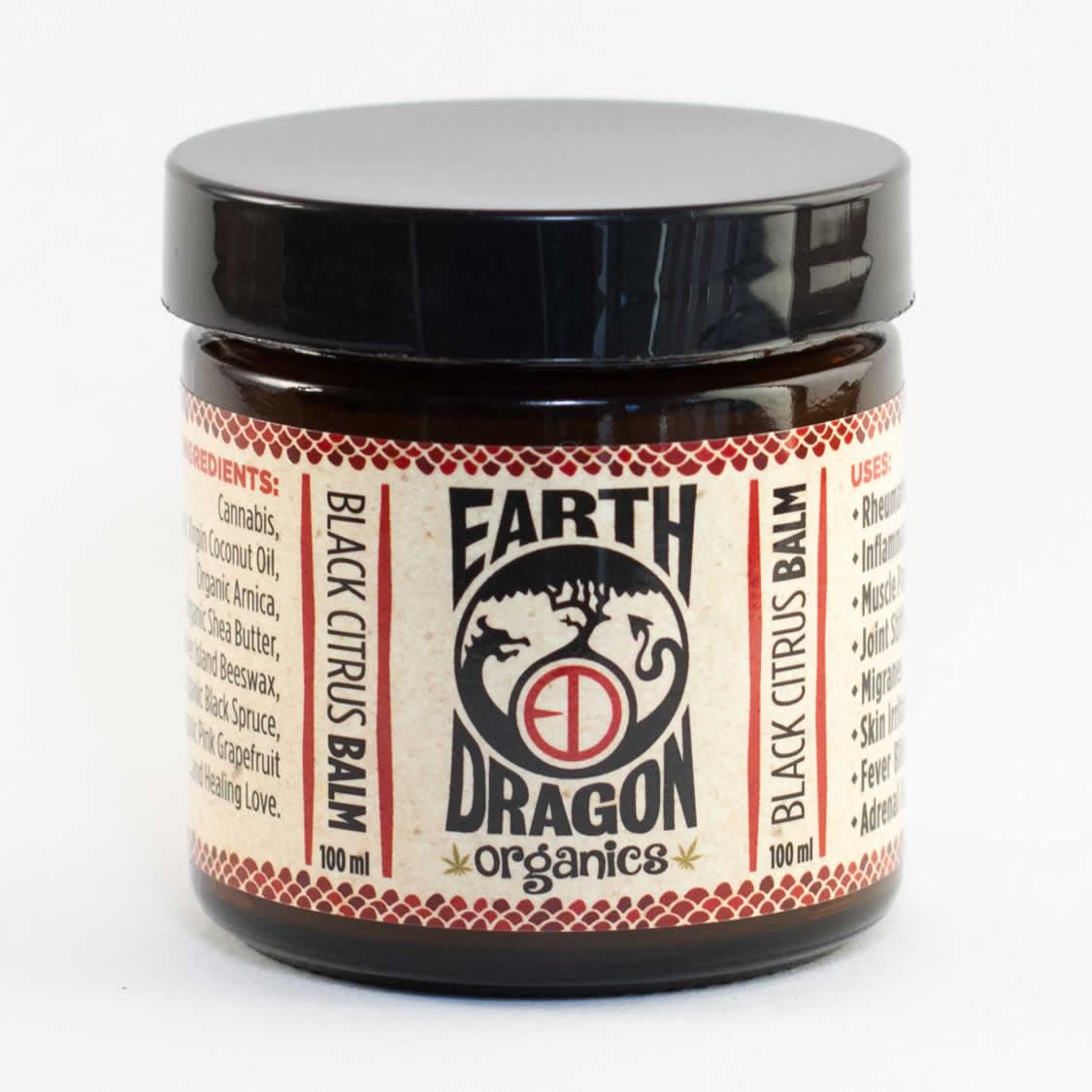 black citrus balm earth dragon organics budbox. Black Bedroom Furniture Sets. Home Design Ideas