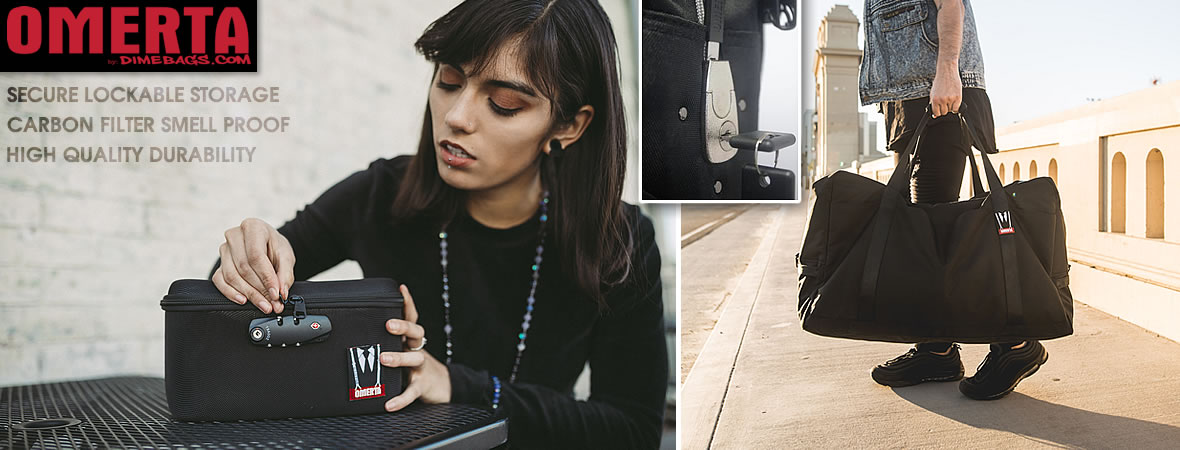OMERTA Smell Proof Technology