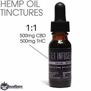 1:1 ratio CBD Infused Hemp Oil by BC Trees