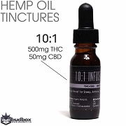 10:1 ratio THC / CBD Infused Hemp Oil by BC Trees