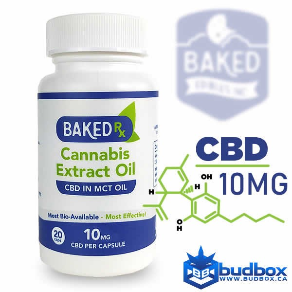 CBD Extract Capsules 10mg